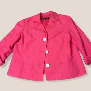 pink vintage blazer suit jacket